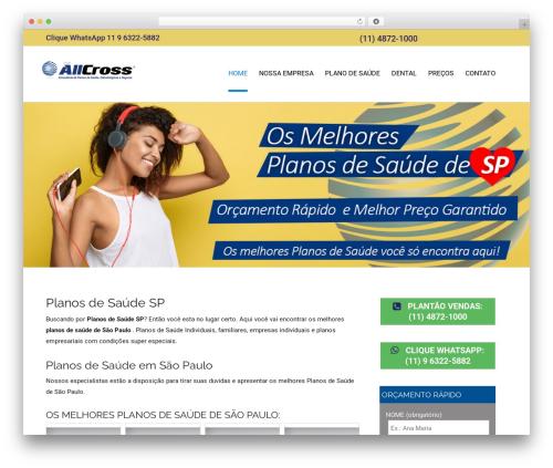 Colorist free WP theme - planosdesaudesaopaulo.com