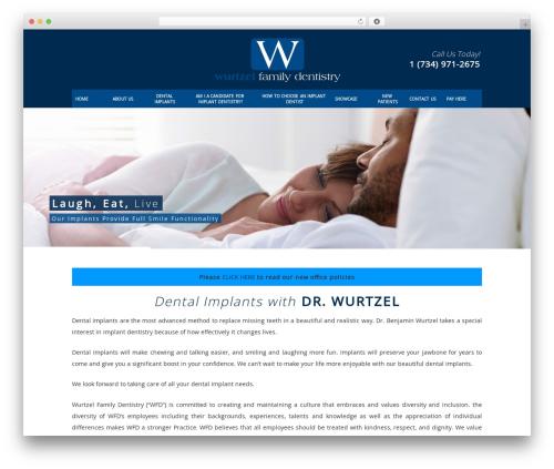 DentalCMO Build (2013) WordPress theme - dentalimplantsannarbor.com