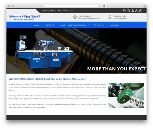 Enlighten best free WordPress theme - broachsharpeningmachine.com