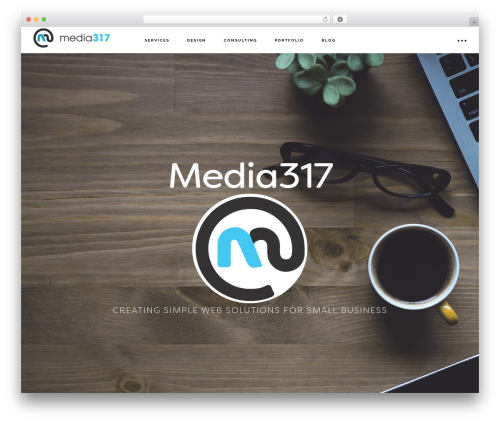 Genesis WordPress theme - media317.net