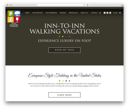 I-Tul Design & Software WordPress template - winecountrytrekking.com