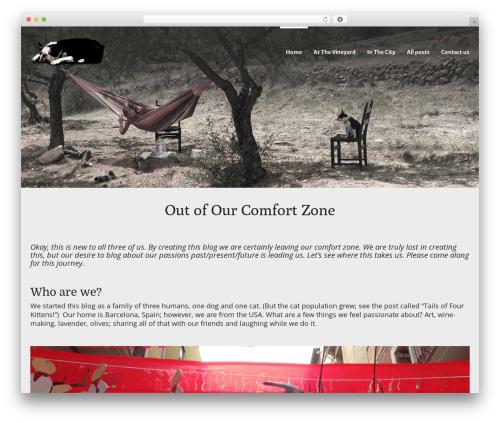 JOYN. WP theme - ooocomfortzone.com