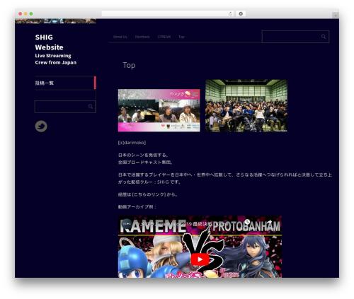 Metro CreativeX free WordPress theme - shigaming.com