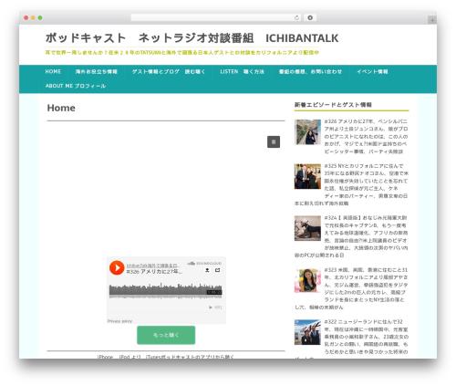 MH FoodMagazine best free WordPress theme - ichibantalk.com