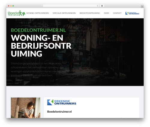 Moon Shop WordPress shop theme - boedelontruimer.nl