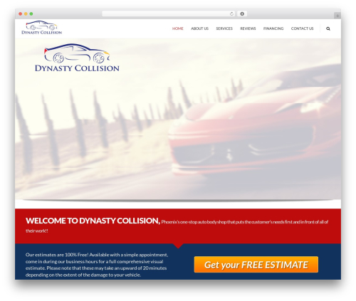 MX WordPress theme - dynastycollision.com