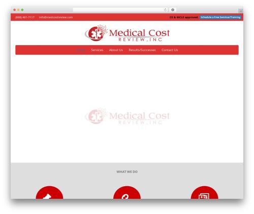 Pegasus WordPress theme - medcostreview.com
