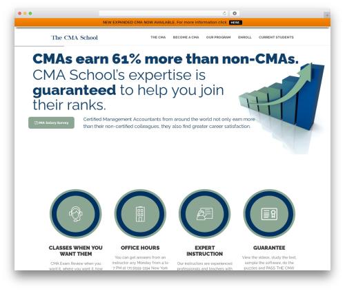 Skilled WordPress template - cmaschool.com