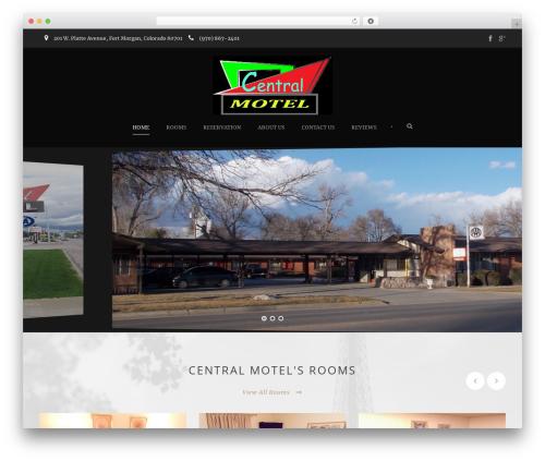 Template WordPress Hotel Master - Child - centralmotelfortmorgan.com