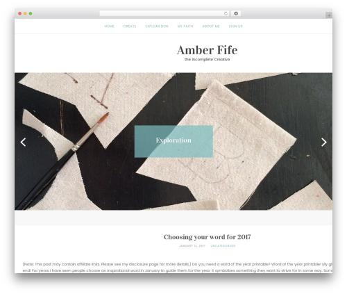 Theme WordPress Roseland - amberfife.com