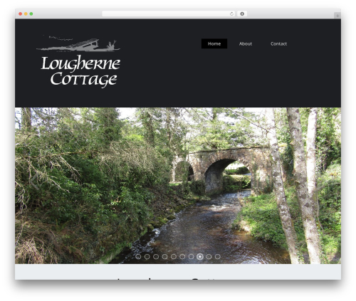 ThemeAlley.Business.Proo WordPress template for business - loughernecottage.com