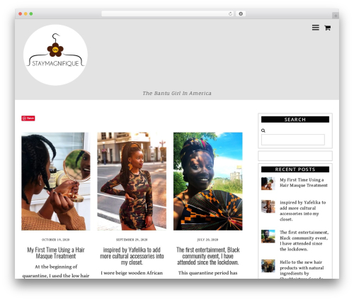 Themify Ultra WordPress blog template - staymagnifique.com