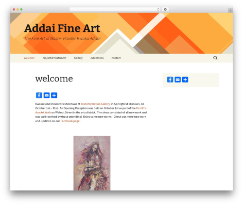Twenty Thirteen theme free download - addaifineart.com