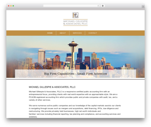Type free WordPress theme - mgapllc.com