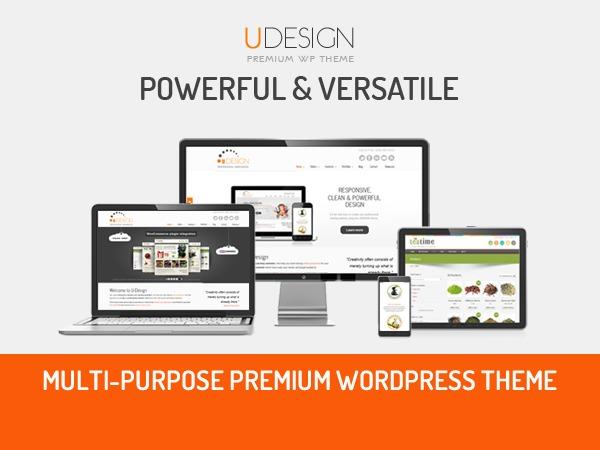 U-Design WordPress store theme