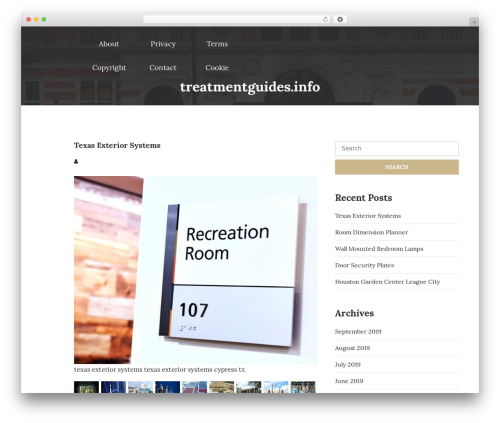 UNISCO WordPress template free download - treatmentguides.info