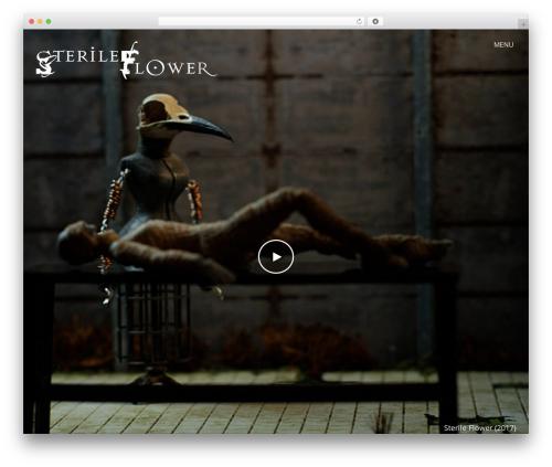 Vysual WordPress theme - sterileflower.com
