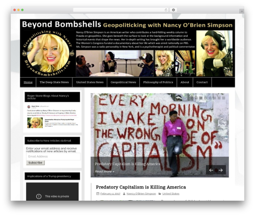 WordPress template Smartline - nancyobriensimpson.com