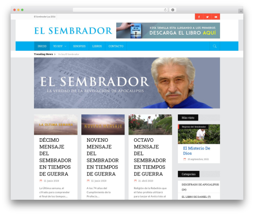 WordPress theme Discussion - elsembradorluz.com