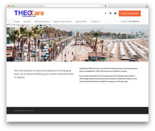 AutoStars WordPress theme - theocars.com