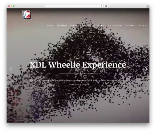 Best WordPress template Inspiro - xdlchampionship.com