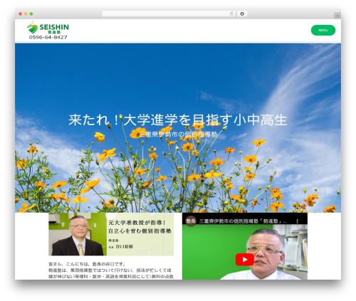 WordPress mt_testimonials plugin - seishin-ise.com