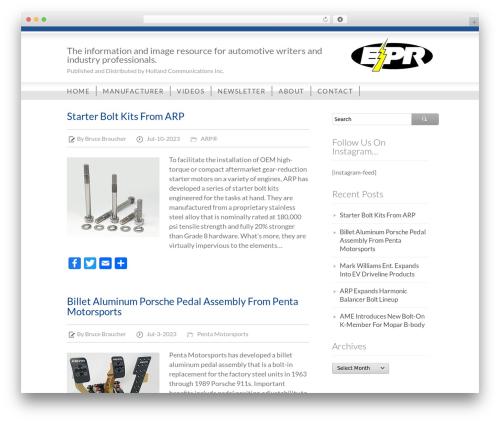 Business Directory WordPress template free - electronic-pr.com