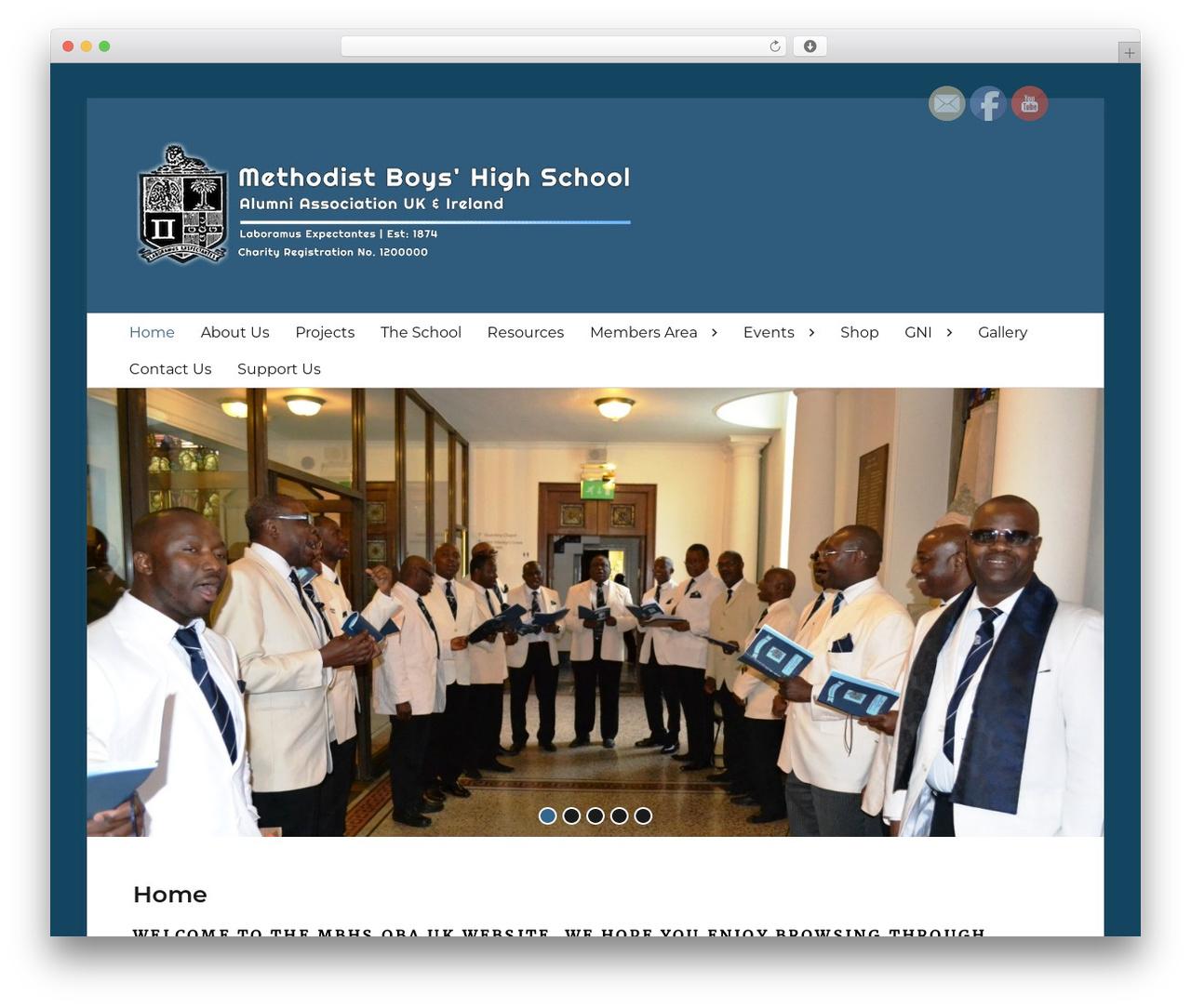 Clean Education Pro WordPress theme - mbhsobauk.com