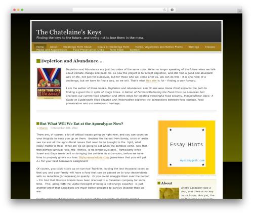 FallSeason best WordPress template - sharonastyk.com