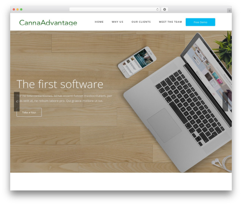 Fusion WordPress template - tokeitadvantage.com