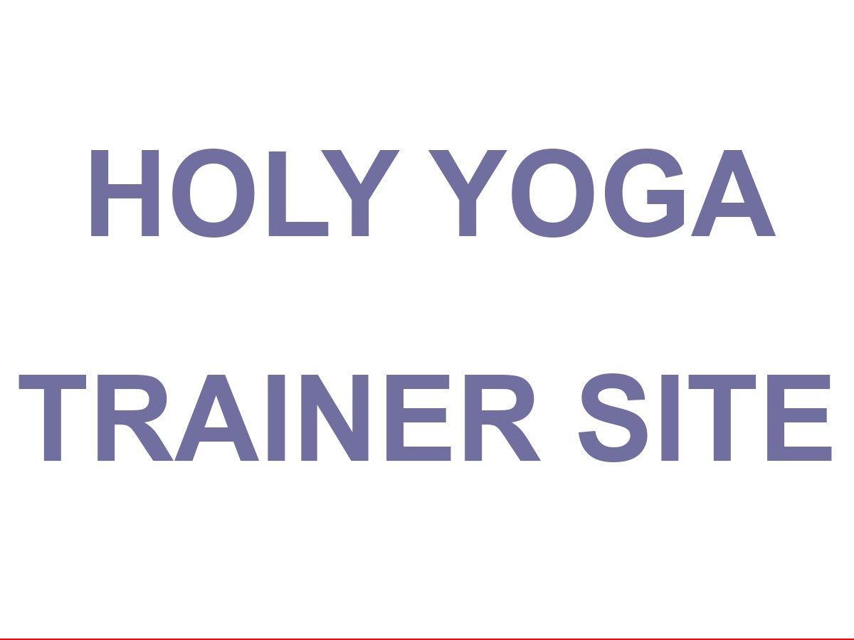 Holy Yoga Trainer Theme theme WordPress