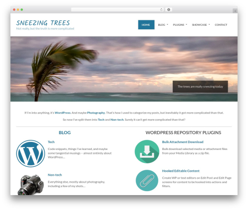 Hoot Ubix template WordPress free - sneezingtrees.com