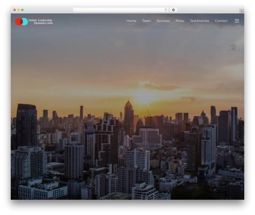 Inspiro best WordPress template - gldasia.com