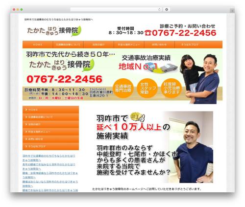 micata2 best WordPress template - takata-hari.com