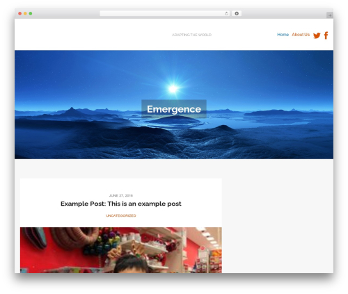 MorningTime Lite theme WordPress - competecoop.com