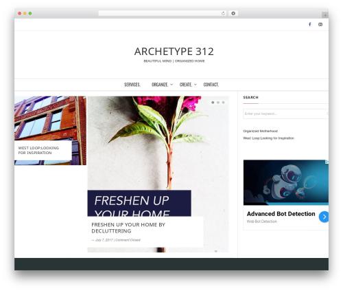 Origamiez WordPress template free download - archetype312.com