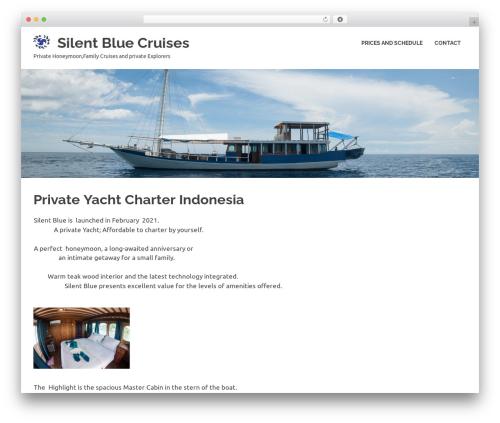 Poseidon theme WordPress free - silentblueindonesia.com