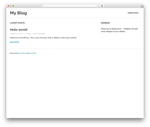 Poseidon WordPress theme download - anthonythomson.com