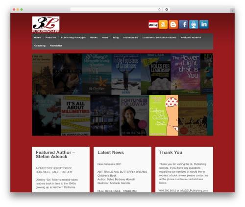 Responsive best free WordPress theme - 3lpublishing.com/3l