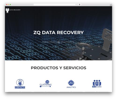 Rise Lite premium WordPress theme - zqdatarecovery.com