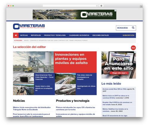 Route1Americas - Parent Theme WordPress theme design - carreteras-pa.com