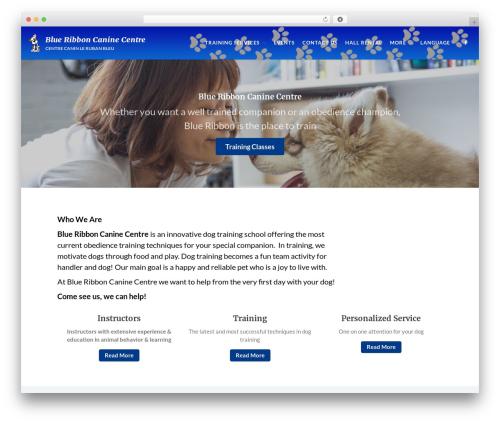 Theme WordPress Acquire - WordPress Corporate Theme - blueribboncanine.com