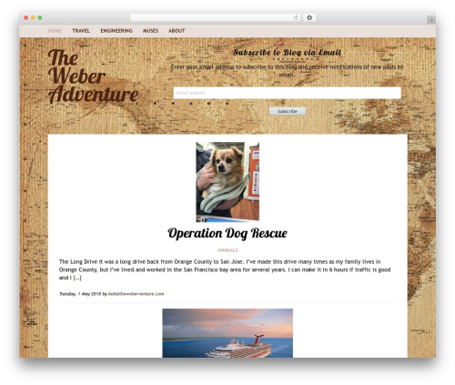 Theme WordPress Rakiya - theweberadventure.com