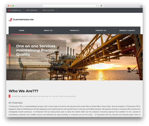 Theme WordPress WP Industry Theme - tjfze.com