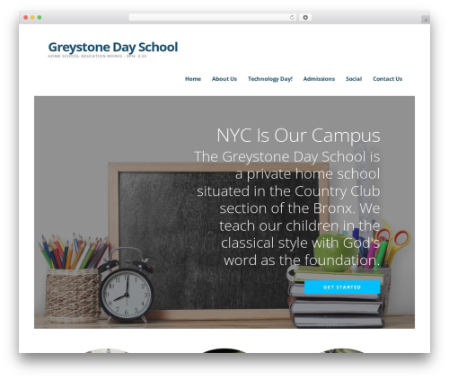 WordPress theme Ascension - greystonedayschool.com
