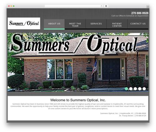 WordPress theme cherry - summersopticalinc.com