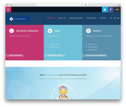 WP template Doctor+ - clinicbodrum.com
