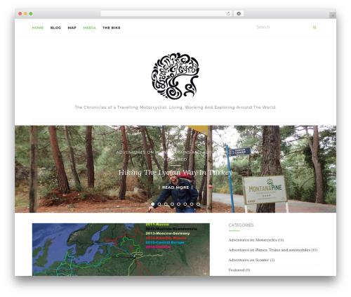 Activello WordPress template free - travellingmyrt.com