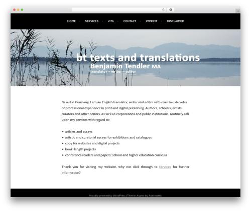 Argent free WordPress theme - bt-texts.com