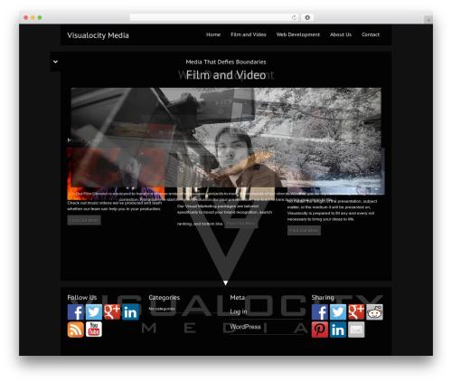 Black Label WordPress theme - visualocitymedia.com